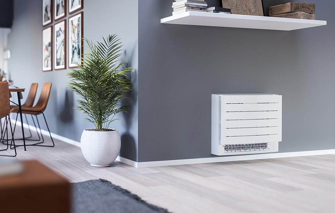 Varmepumpe Daikin Gulvmodell fra Varme- og Kjølesystemer